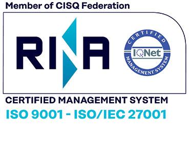 Eratio è certificata ISO-9001